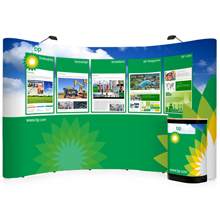 3x5 Curved Popup Stands