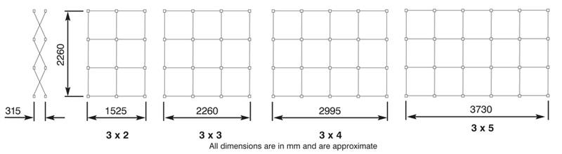 Hopup dimensions