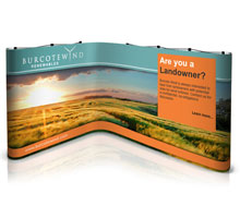 Kit 3 - L-Shaped Popup Stand - 2.5m x 3m Space