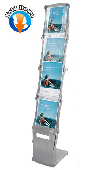 A4 portable brochure stands | Everest from RAL Dispaly