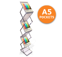 Z-Stand A5 Portable Brochure Holders