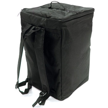 Carry bag for fold down brochure stands.