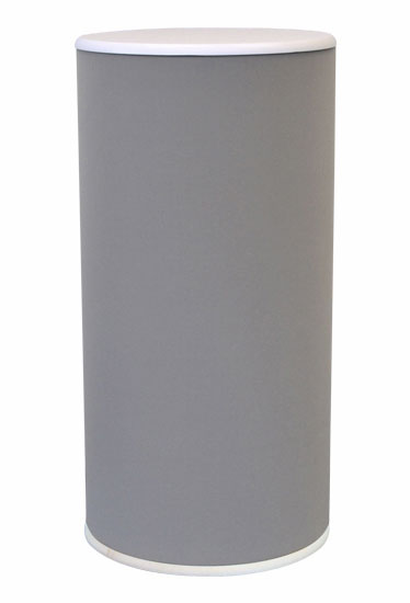 Exhibition plinth - 800mm high with a choice of 400 or 500mm dia