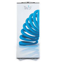 Twist Banner Stand - Basic Package