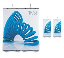 2 Panel Twist Banner Stands