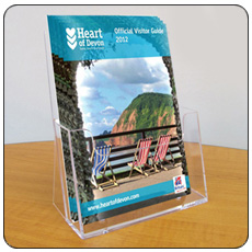 A5 Table Top Leaflet Holders - Pack of 4