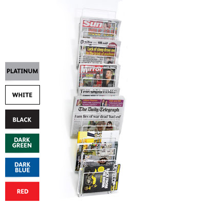Wall mount magazine rack | RAL Display