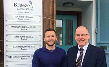 Ayrshire dentist sinks teeth into expansion