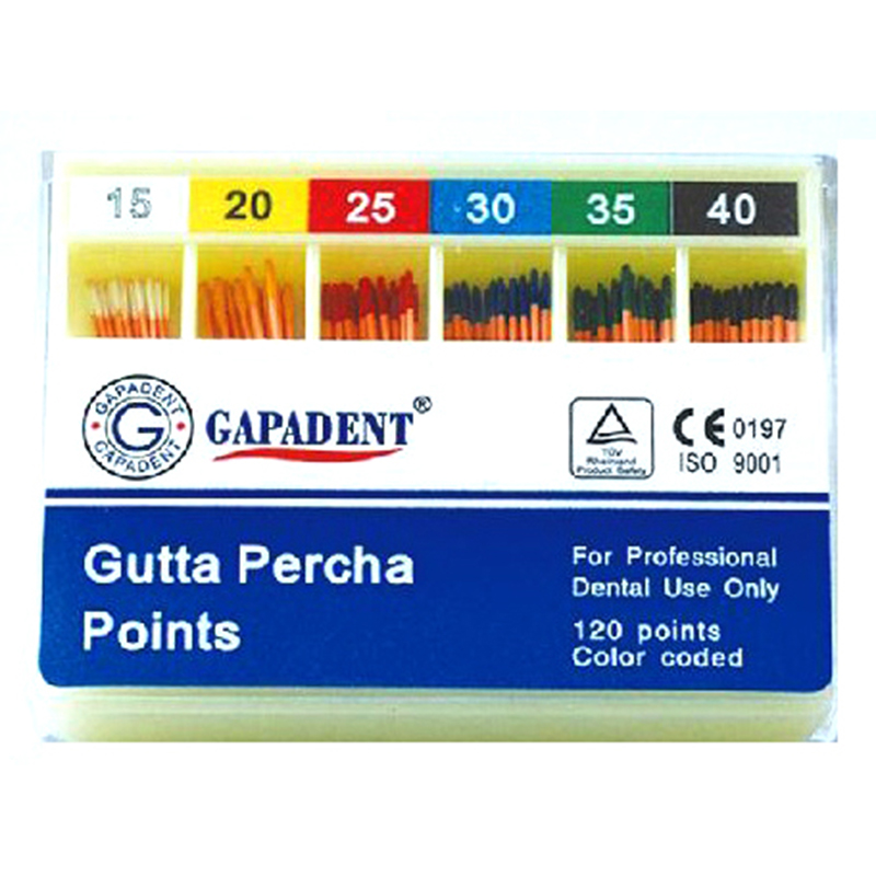 K Flexi Gutta Percha Points Size 10 120 Pcs Per Box