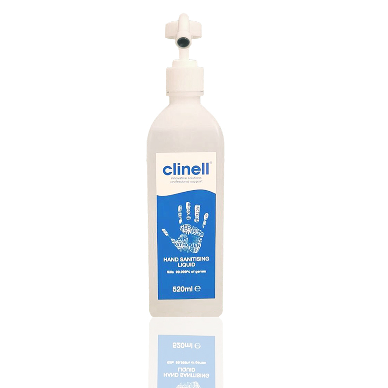Clinell Hand Sanitising Liquid 520ML