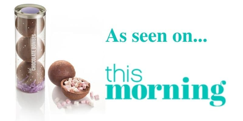 Hot Chocolate Bombes on <i>This Morning </i>