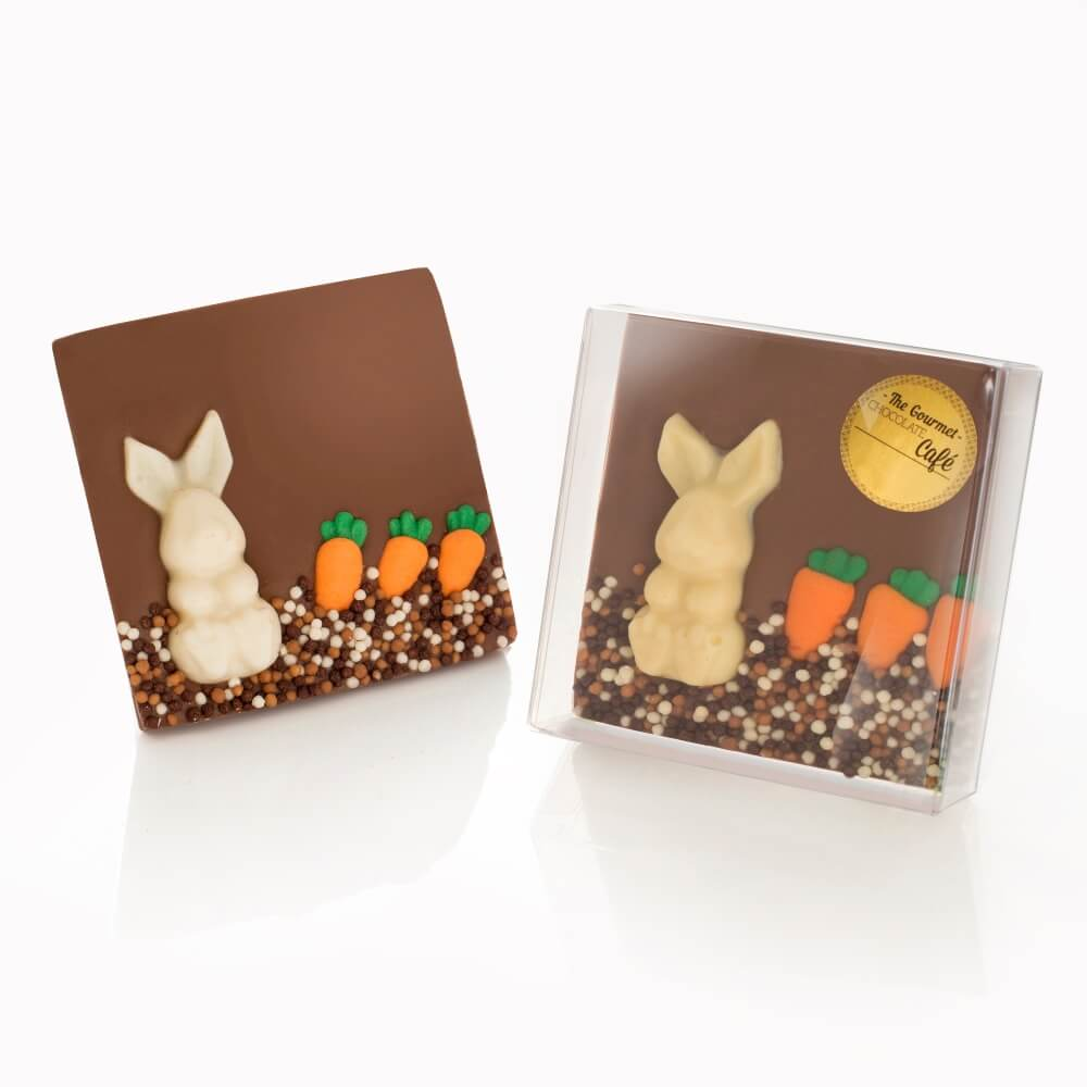 Easter Bunny Bar with sugar carrots