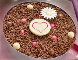 Mother's Day Chocolate Pizza
