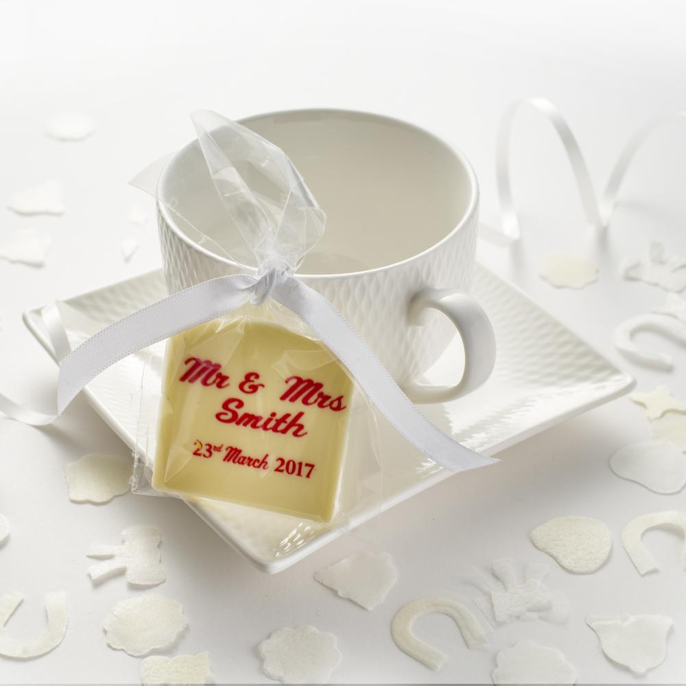 Handcrafted Belgian Chocolate Plaques Personalised for your Special Day