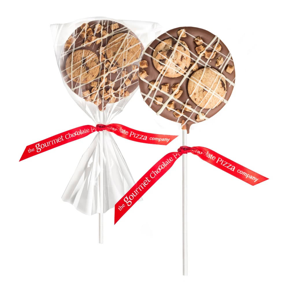 Fudge & Biscuit Lollipops