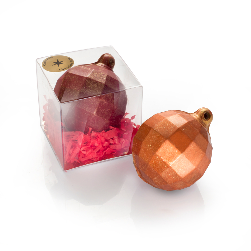 Our Chocolate Baubles are a novelty festive treat