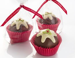 Rocky Road Christmas Puddings