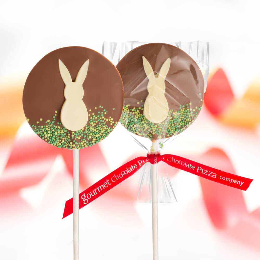 Ou Easter Bunny Lollies are back in stock for Easter 2021