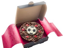 Mini Football Pizza