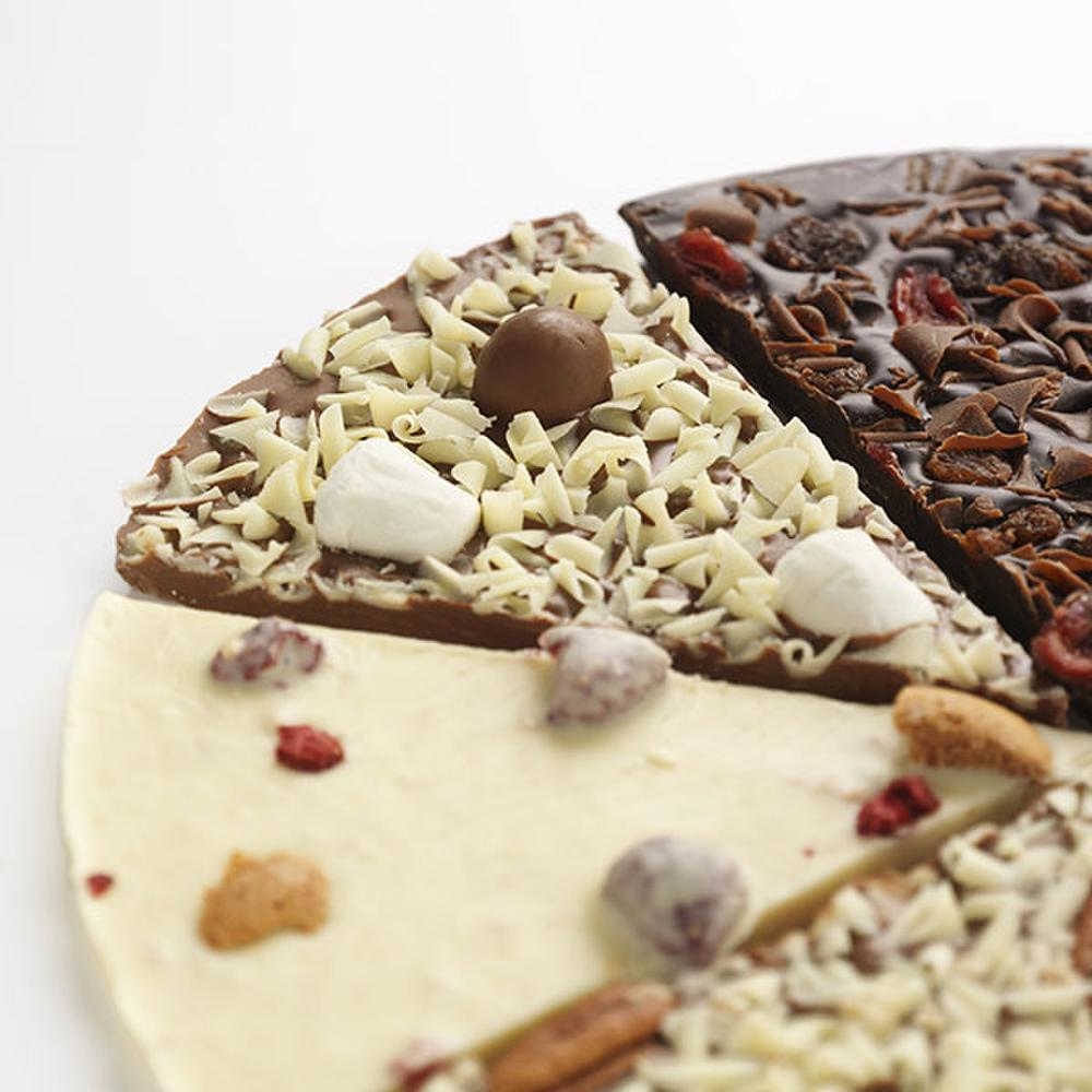 Our Design Your Own Pizza makes a unique chocolate gift.