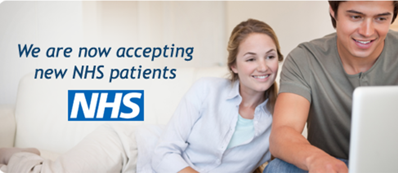 Accepting new NHS Dental Patients in Colchester