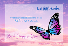 Christmas gift voucher for wellbeing