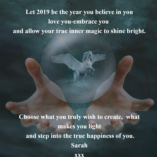 Sending you an abundance of magic and ease for 2019