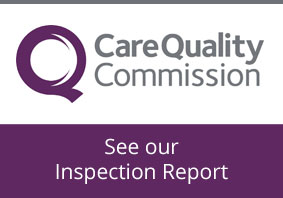 Publication of our CQC Inspection Report