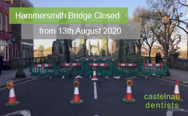 Hammersmith Bridge is Closed