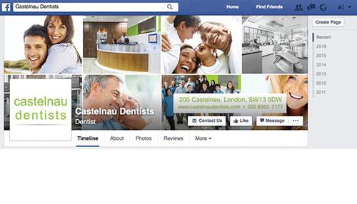 Castelnau Dentists on Facebook