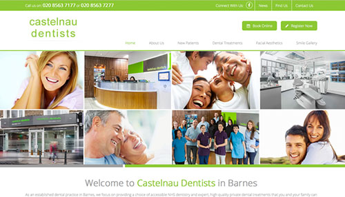 Castelnau Dentists New Website Live