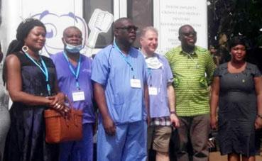 Dr Malcolm Farr in Ghana