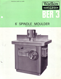 Wadkin BER 3 Spindle Moulder