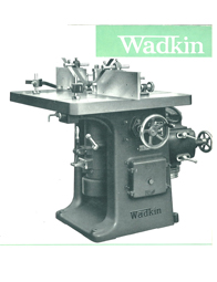 Wadkin EP Spindle Mouler