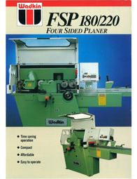 Wadkin FSP Four Sided Planer