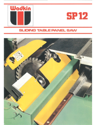 Wadkin SP Panel Saw