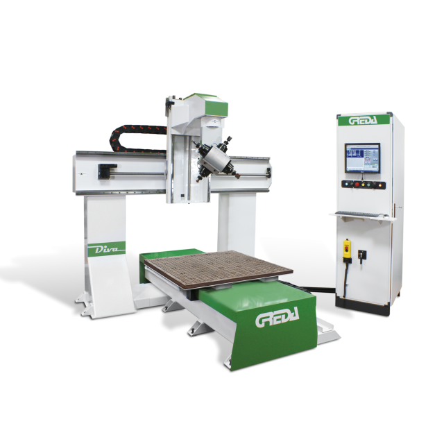 Greda Diva 5 Axis CNC Machining Centre