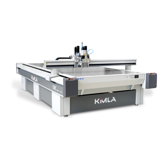 Kimla BPT High Speed 3 Axis CNC Router/ Knife/ Camera