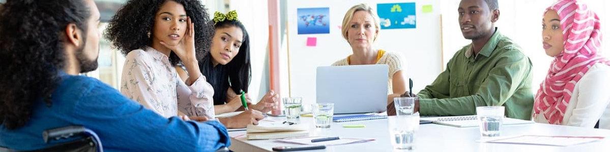 public contributors discussing applications