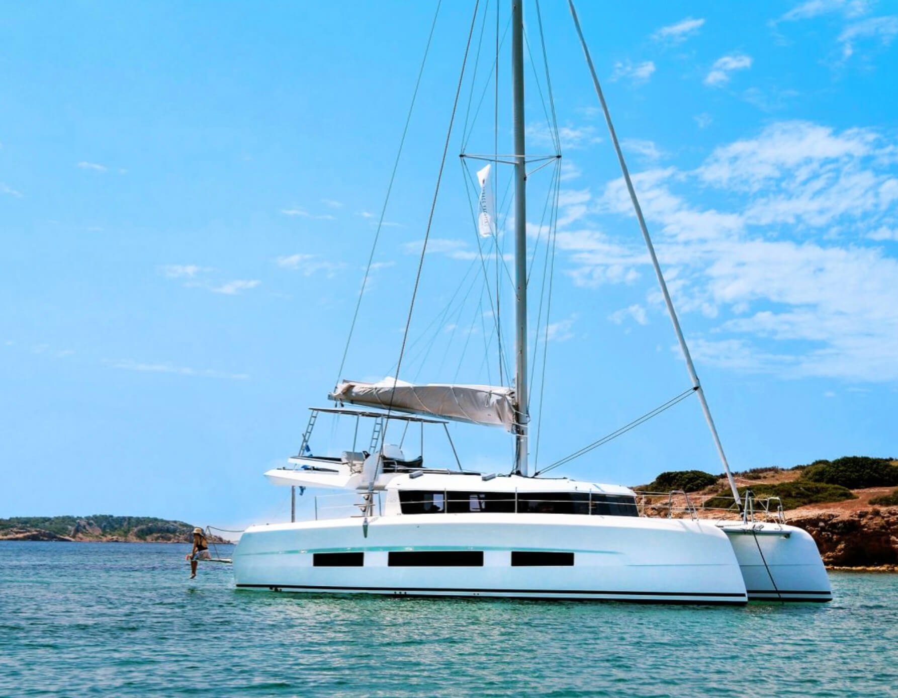 Dufour 48 available for yacht charter in Greece