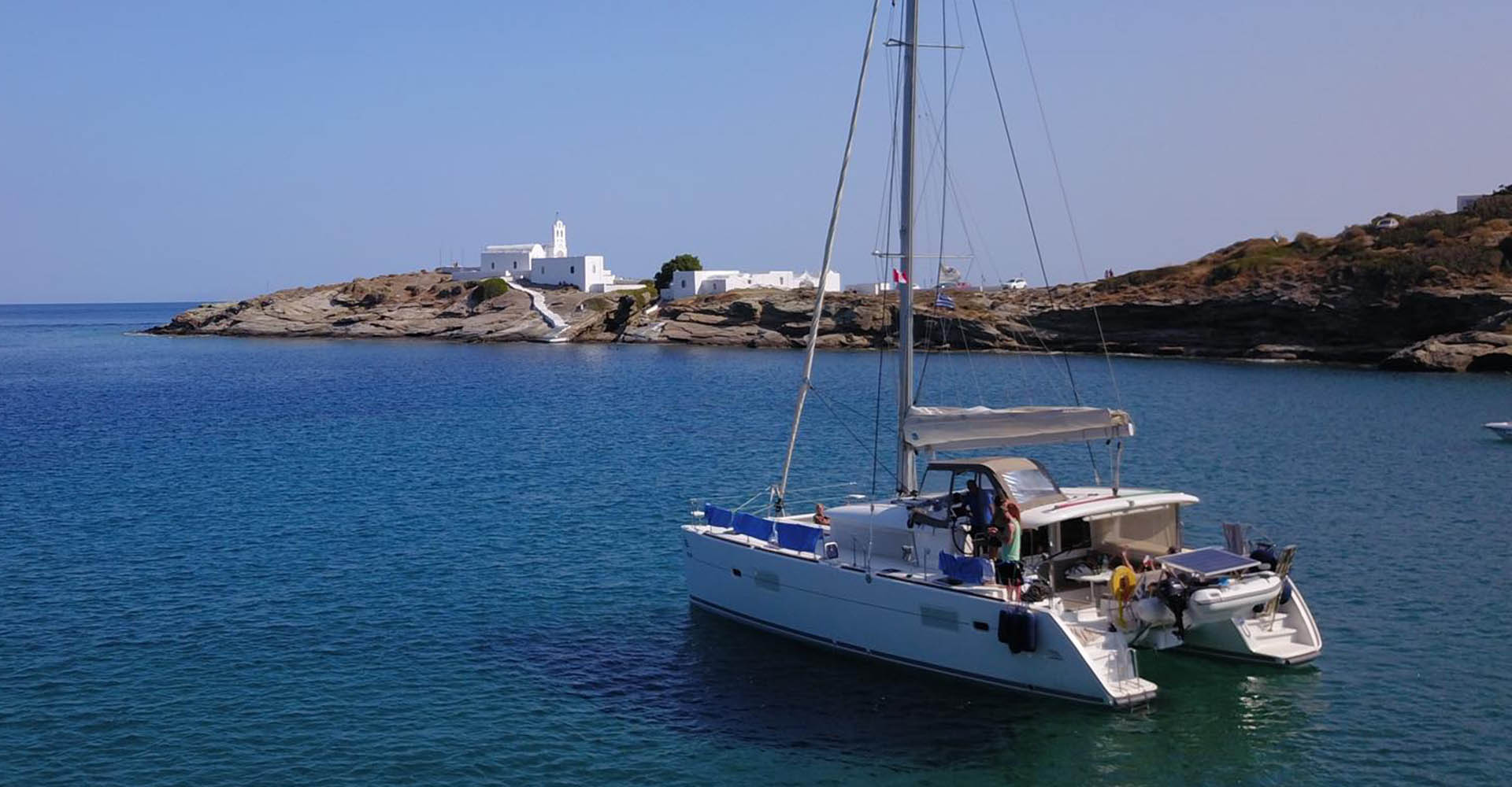 Yacht charter Greece Lagoon 400S2 HUGE discount