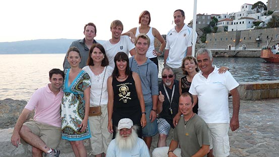 Sailing in Greece: Just a few pirates in Hydra