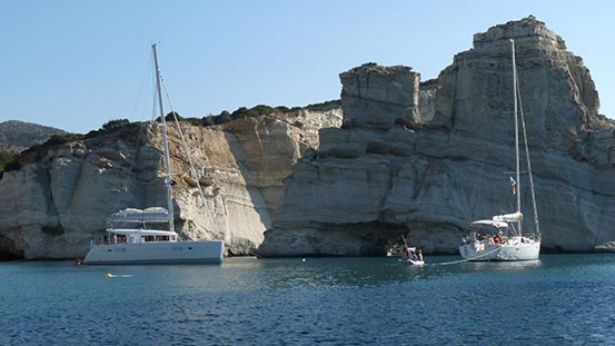 Sailing in Greece video