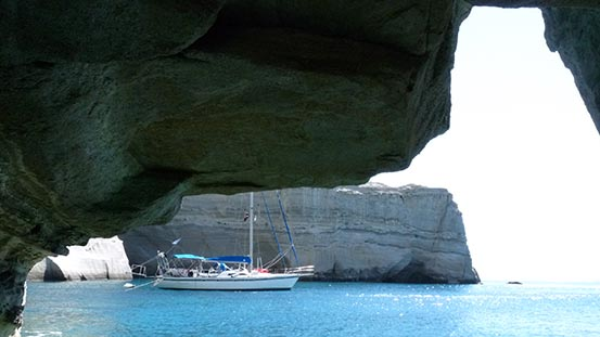 Sailing in Greece: A mixed bag of weather