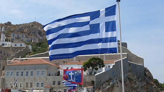 Greece our guarantee to you