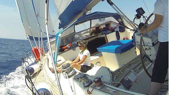 Sailing in Greece: The Meltemi winds arrive