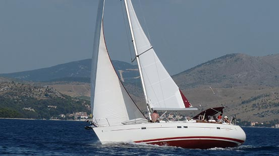 Sailing in Croatia: Sailing weather at last!