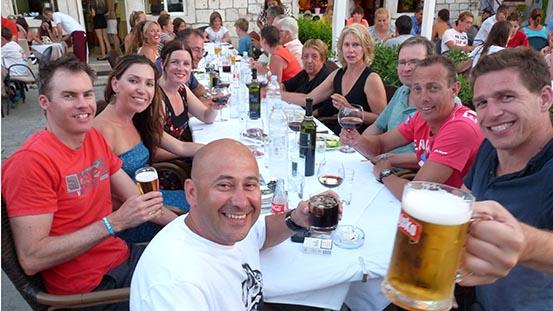 Sailing in Croatia: Saying goodbye to new friends