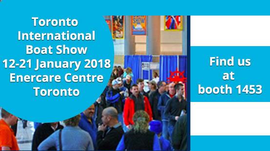 Toronto Boat Show 12-21 January 2018