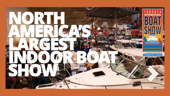 Toronto Boat Show….the countdown begins